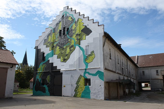 M-CITY Wand fertig